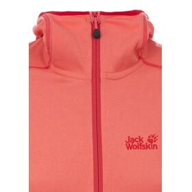 Jack Wolfskin Rock Bar - Veste polaire femme - rose/rouge